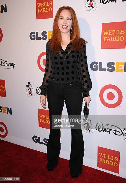 Actress Amy Yasbeck attends the 9th annual GLSEN Respect Awards at Beverly Hills Hotel on October 18 2013 in Beverly Hills California