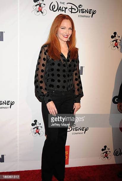 Actress Amy Yasbeck attends the 9th Annual GLSEN Respect Awards held at the Beverly Hills Hotel on October 18 2013 in Beverly Hills California