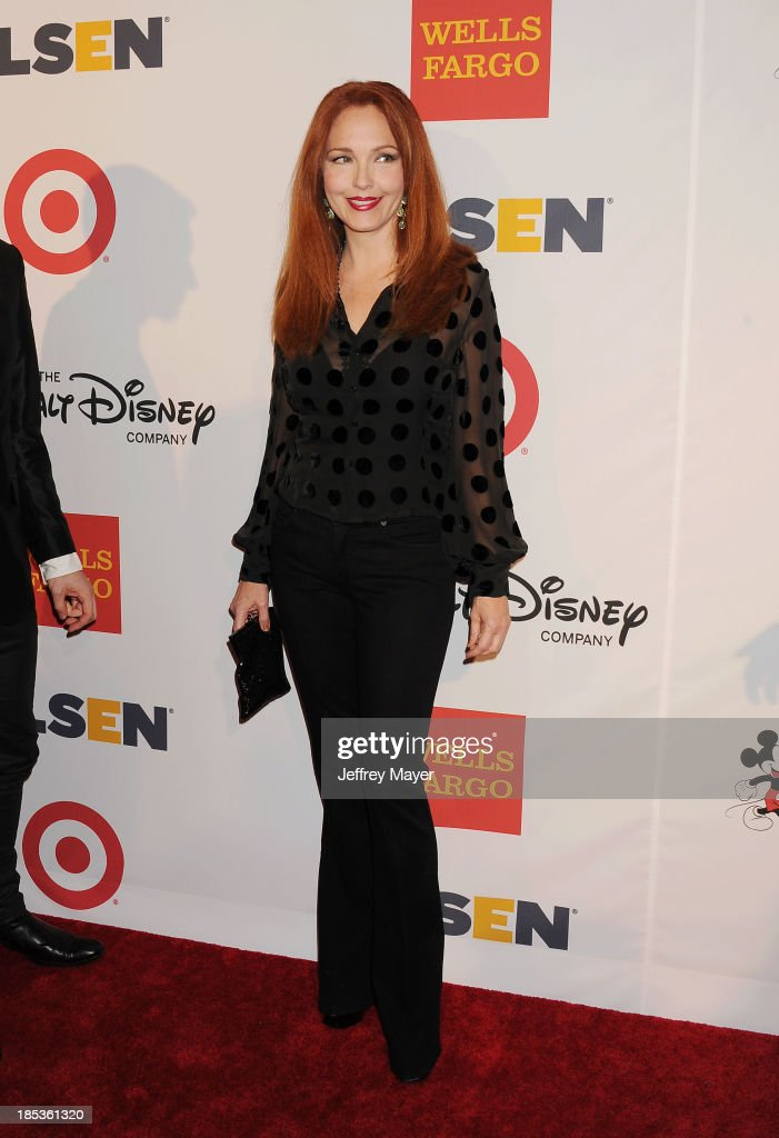 Actress Amy Yasbeck attends the 9th Annual GLSEN Respect Awards held at the Beverly Hills Hotel on October 18, 2013 in Beverly Hills, California.