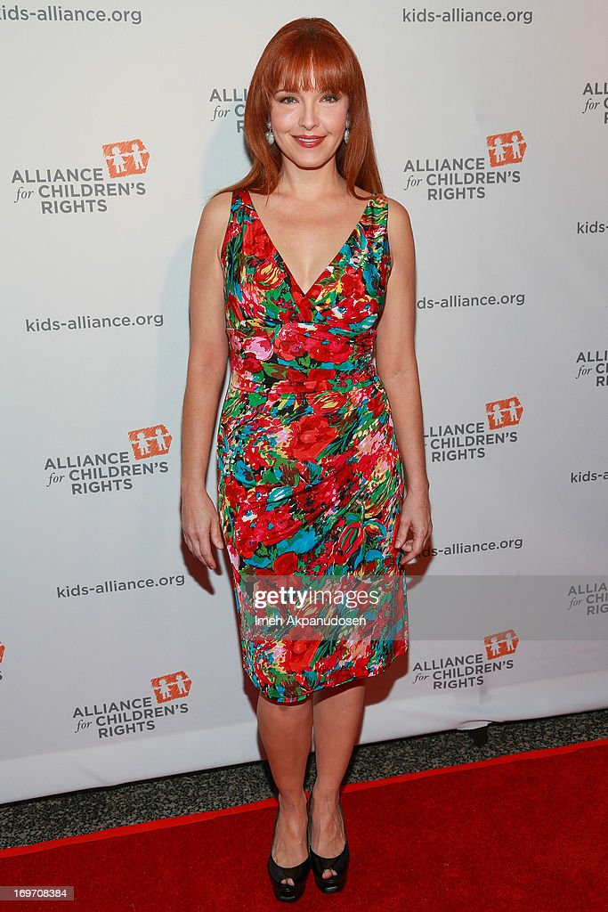 Actress Amy Yasbeck attends The Alliance For Children's Rights 4th Annual Right To Laugh - An Evening Of Comedy at Avalon on May 30, 2013 in Hollywood, California.