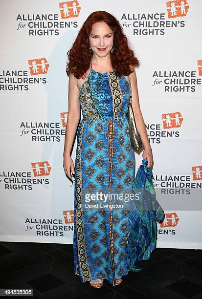 Actress Amy Yasbeck attends the Alliance for Children's Rights 5th Annual Right to Laugh comedy benefit at Avalon on May 29 2014 in Hollywood...