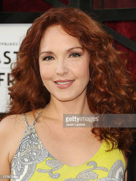 Actress Amy Yasbeck attends the Comedy Central Roast of James Franco at Culver Studios on August 25 2013 in Culver City California