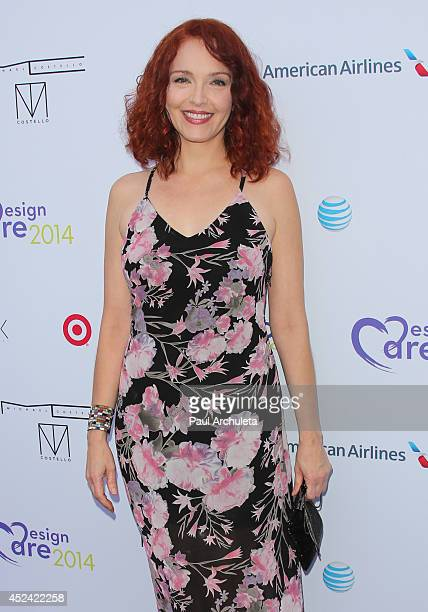 Actress Amy Yasbeck attends The HollyRod Foundation's 16th Annual DesignCare at The Lot Studios on July 19 2014 in Los Angeles California