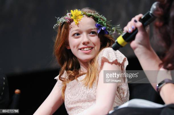 Actress Amybeth McNulty attends the CBC World Premiere VIP screening of 'Anne' at TIFF Bell Lightbox on March 16 2017 in Toronto Canada
