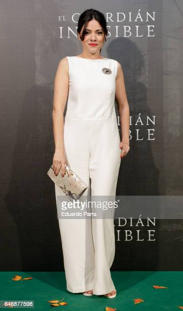 Actress Ana Arias attends the 'El guardian invisible' premiere at Capitol cinema on March 1, 2017 in Madrid, Spain.