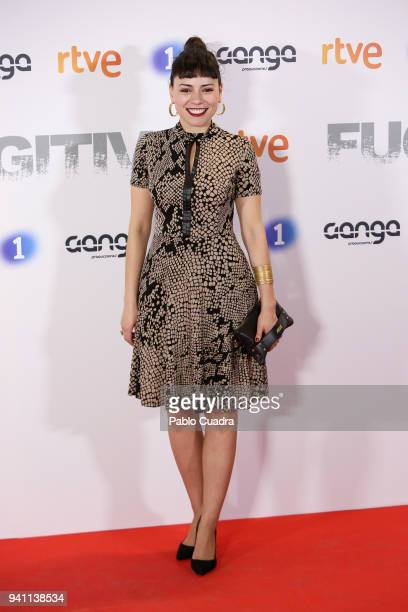 Actress Ana Arias attends the Fugitiva premiere at Callao Cinema on April 2 2018 in Madrid Spain