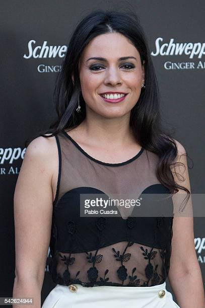 Actress Ana Arias attends the 'Ginger Ale By Schweppes' party at Santa Coloma Palace on June 23, 2016 in Madrid, Spain.