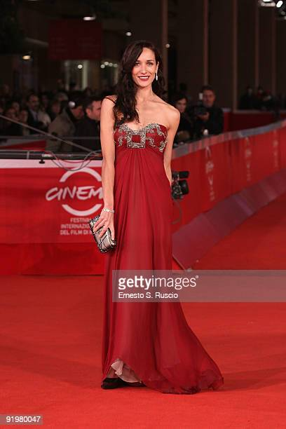 Actress Ana Asensio attends 'The Afterlight' Premiere during day 4 of the 4th Rome International Film Festival held at the Auditorium Parco della...