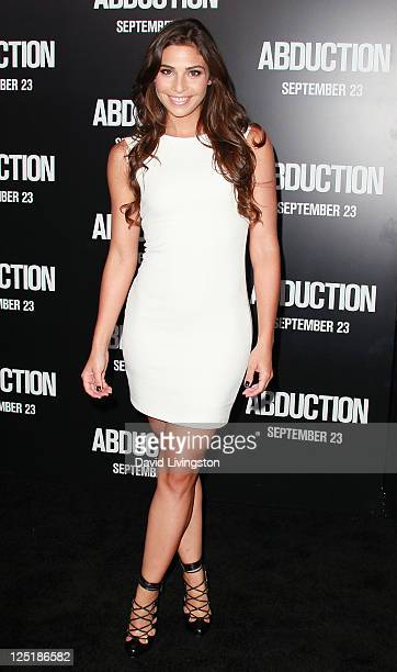 Actress Ana Ayora attends the premiere of Lionsgate Films' 'Abduction' at Grauman's Chinese Theatre on September 15 2011 in Hollywood California
