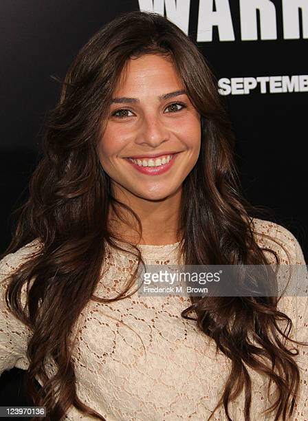 Actress Ana Ayora attends the Premiere of Lionsgate Films' 'Warrior' at the Arclight Hollywood on September 6 2011 in Hollywood California