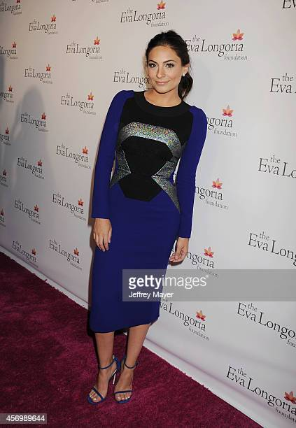 Actress Ana Brenda Contreras attends Eva Longoria's Foundation dinner at Beso on October 9 2014 in Hollywood California