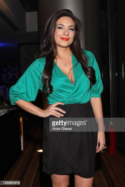 Actress Ana Brenda Contreras attends the 2011 GQ Mexico Men of the Year party at the Salon Arcos Bosques on November 17 2011 in Mexico City Mexico