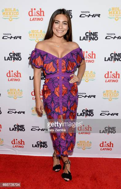 Actress Ana Brenda Contreras attends the 9th Annual Hola Mexico Film Festival opening ceremony at Regal LA Live Stadium 14 on June 7 2017 in Los...
