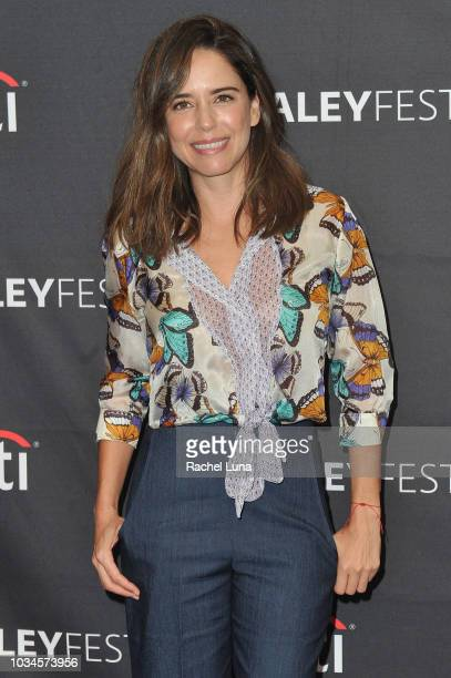 Actress Ana Claudia Talancon attends Telemundo Presents 'El Recluso' for the 12th annual PaleyFest Fall TV Previews at The Paley Center for Media on...