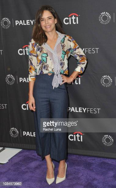 Actress Ana Claudia Talancon attends Telemundo Presents El Recluso for the 12th annual PaleyFest Fall TV Previews at The Paley Center for Media on...
