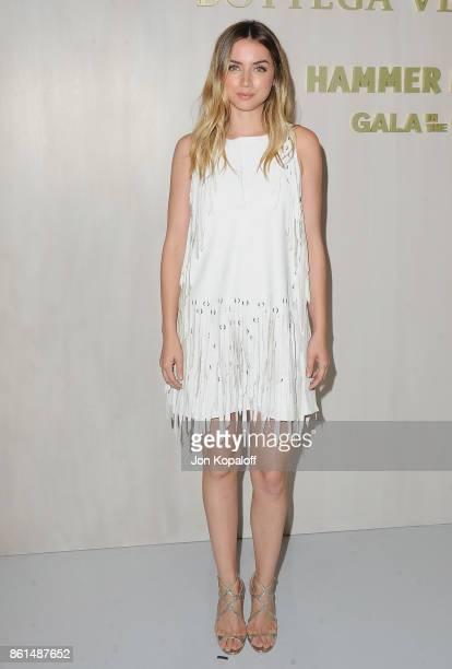 Actress Ana de Armas arrives at Bottega Veneta Hosts Hammer Museum Gala In The Garden on October 14 2017 in Westwood California