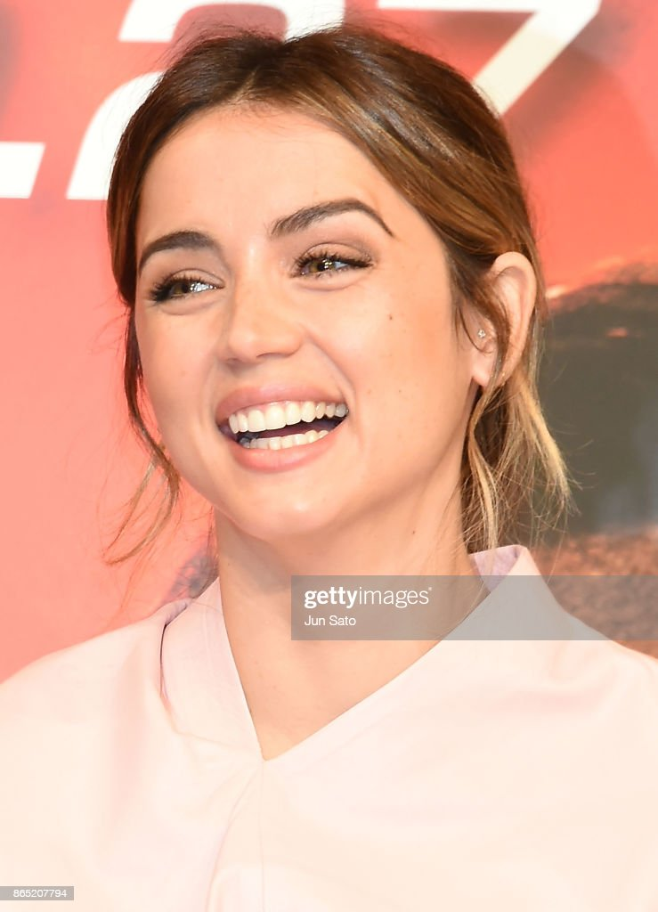 Actress Ana de Armas attends the 'Blade Runner 2049' press confrence at the Ritz-Carlton on October 23, 2017 in Tokyo, Japan.