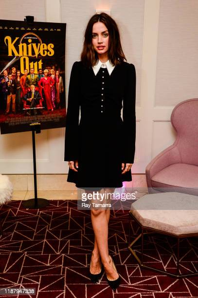 """Actress Ana de Armas attends the """"Knives Out"""" Special Screening And Influencer Event at The London Hotel on November 15, 2019 in West Hollywood,..."""