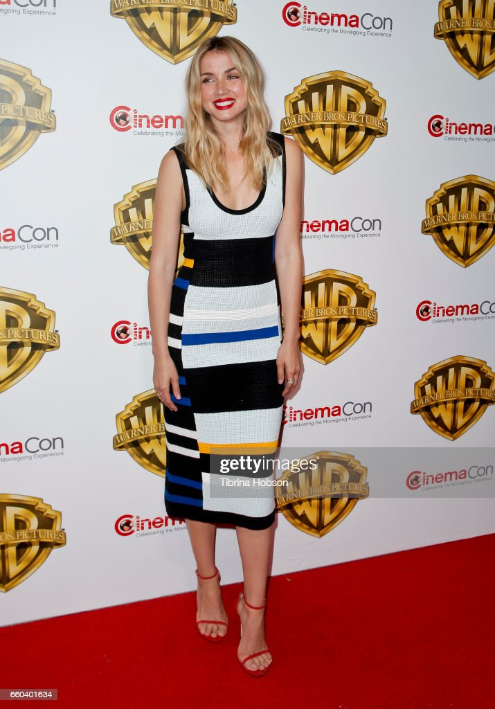 Actress Ana De Armas attends Warner Bros. Pictures 'The Big Picture', an exclusive presentation of our upcoming slate at The Colosseum at Caesars Palace during CinemaCon 2017 on March 29, 2017 in Las Vegas, United States.