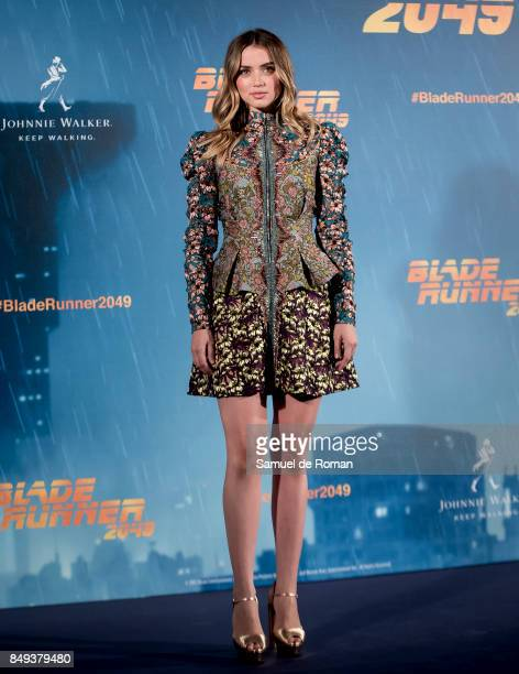 Actress Ana de Armas during 'Blade Runner 2049' Madrid Photocall on September 19 2017 in Madrid Spain