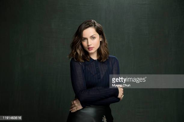 Actress Ana de Armas is photographed for Los Angeles Times on November 15 2019 in Los Angeles California PUBLISHED IMAGE CREDIT MUST READ Myung J...