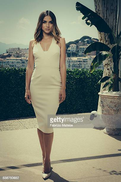 Actress Ana de Armas is photographed for The Hollywood Reporter on May 14 2016 in Cannes France