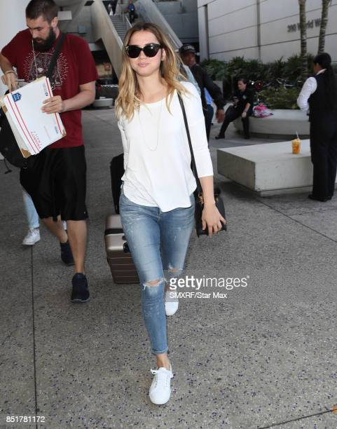 Actress Ana de Armas is seen on September 22 2017 in Los Angeles California
