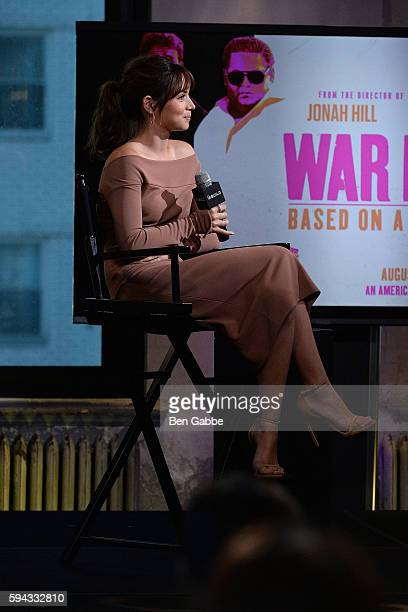 Actress Ana de Armas visits AOL Build to discuss her new movies Hands Of Stone And War Dogs at AOL HQ on August 22 2016 in New York City