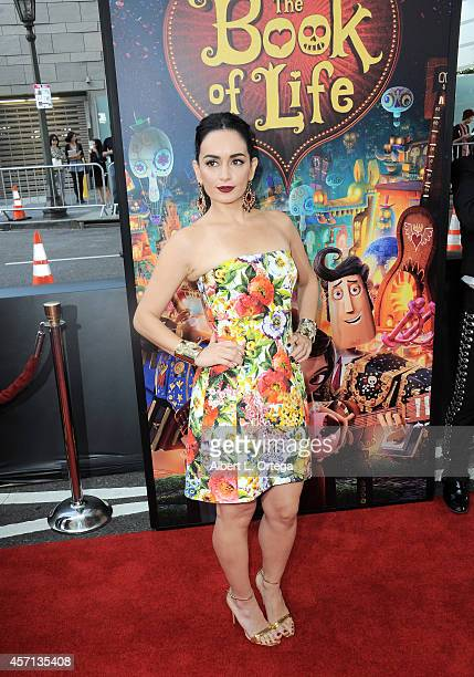 Actress Ana de la Reguera arrives for the Premiere Of Twentieth Century Fox And Reel FX Animation Studios' The Book Of Life held at Regal Cinemas LA...