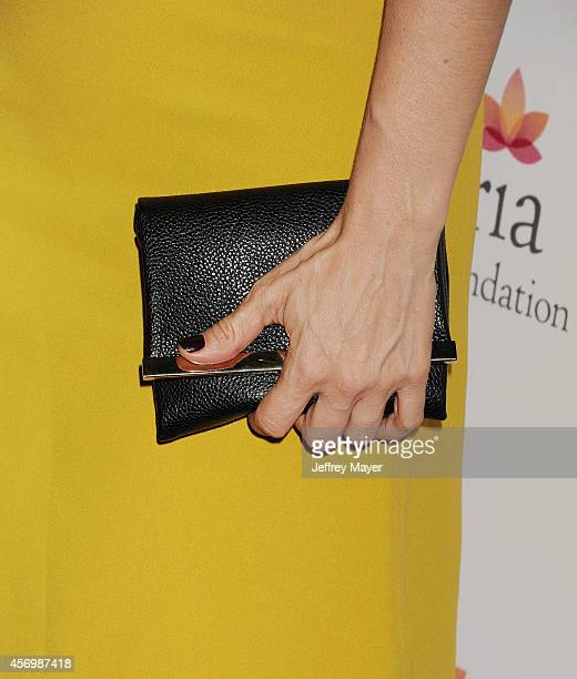 Actress Ana De La Reguera at Eva Longoria's Foundation dinner at Beso on October 9 2014 in Hollywood California