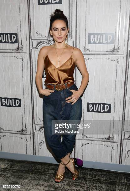Actress Ana de la Reguera attends Build Presents The Cast Of Everything Everything at Build Studio on May 1 2017 in New York City