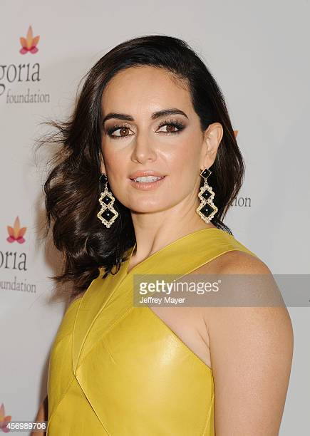 Actress Ana De La Reguera attends Eva Longoria's Foundation dinner at Beso on October 9 2014 in Hollywood California