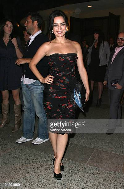 Actress Ana de la Reguera attends Premiere Of HBO's East Bound And Down 2nd Season After Partyon September 16 2010 in Hollywood California