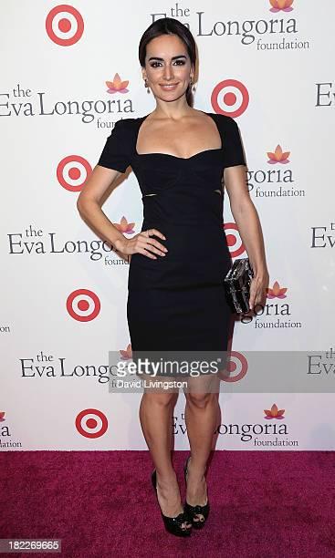 Actress Ana de la Reguera attends the Eva Longoria Foundation Dinner at Beso on September 28 2013 in Hollywood California