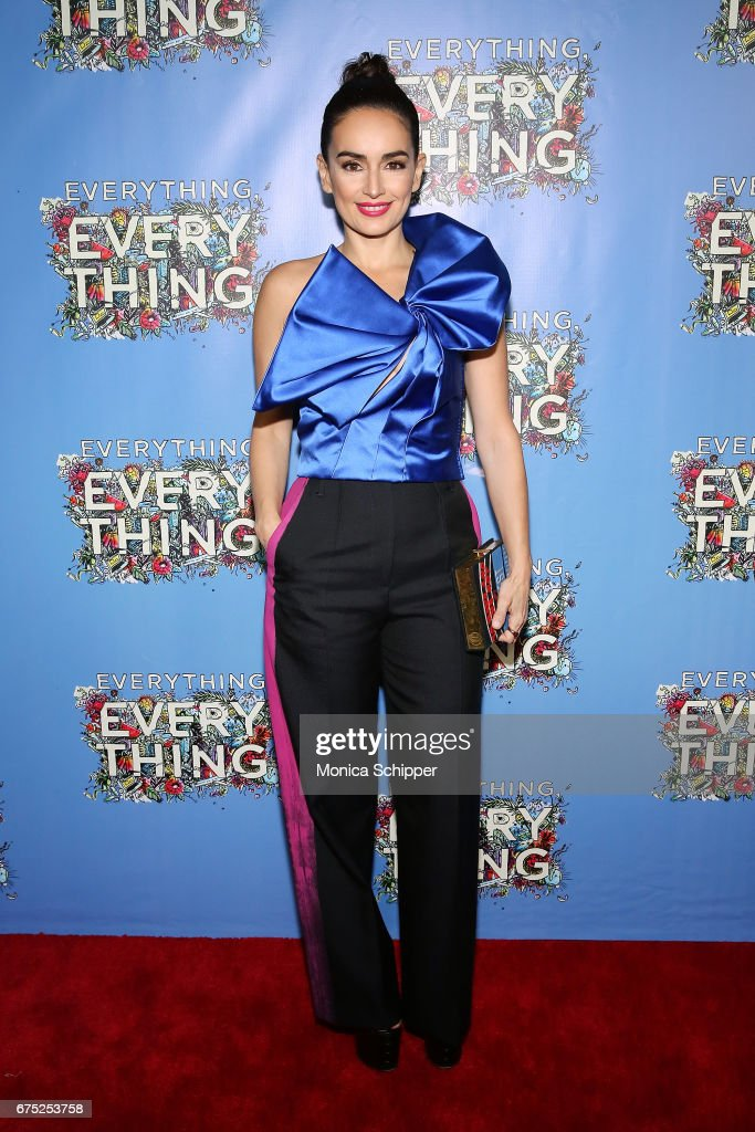 Actress Ana de la Reguera attends the 'Everything, Everything' New York Screening at The Metrograph on April 30, 2017 in New York City.