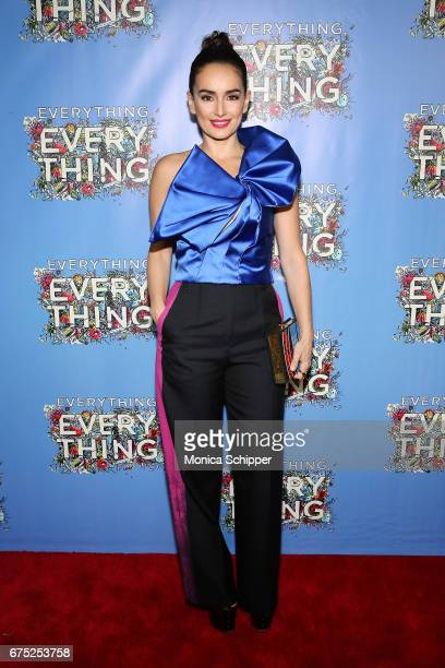 Actress Ana de la Reguera attends the 'Everything Everything' New York Screening at The Metrograph on April 30 2017 in New York City