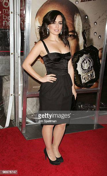 Actress Ana de la Reguera attends the premiere of Cop Out at AMC Loews Lincoln Square 13 on February 22 2010 in New York City