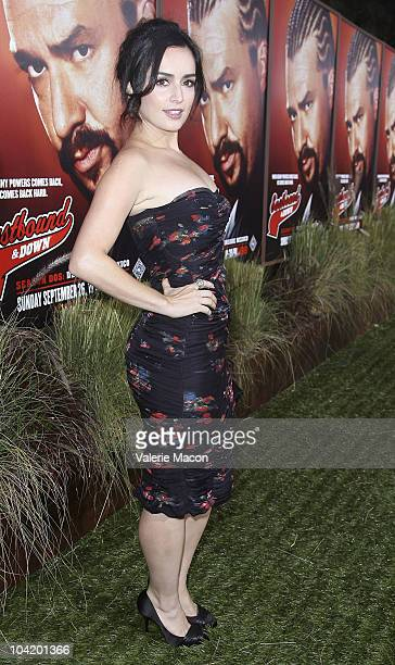 Actress Ana De La Reguera attends the Premiere Of HBO's East Bound And Down 2nd Season on September 16 2010 in Hollywood California