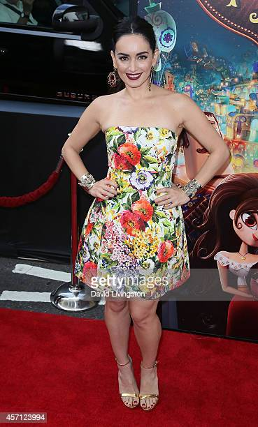 Actress Ana de la Reguera attends the premiere of Twentieth Century Fox and Reel FX Animation Studios' The Book of Life at Regal Cinemas LA Live on...