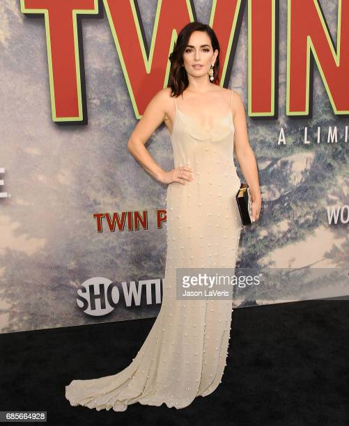 Actress Ana de la Reguera attends the premiere of Twin Peaks at Ace Hotel on May 19 2017 in Los Angeles California