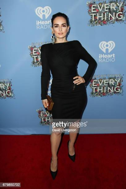 Actress Ana de la Reguera attends the screening of Warner Bros Pictures' Everything Everything at the TCL Chinese Theatre on May 6 2017 in Hollywood...