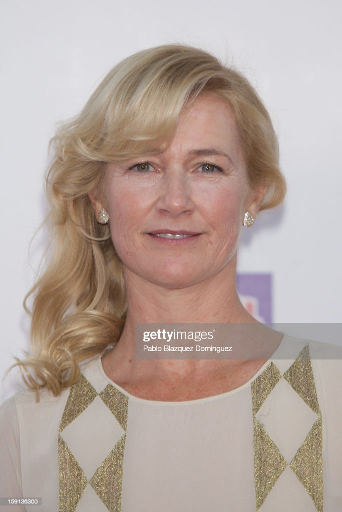 Actress Ana Duato attends 'Cuentame Como Paso' 14th Season presentation at Capitol Cinema on January 8, 2013 in Madrid, Spain.