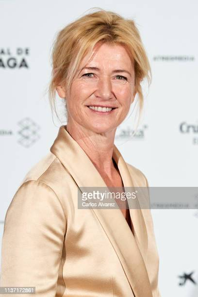 Actress Ana Duato attends 'Los Dias Que Vendran' premiere during the 22th Malaga Film Festival on March 20 2019 in Malaga Spain