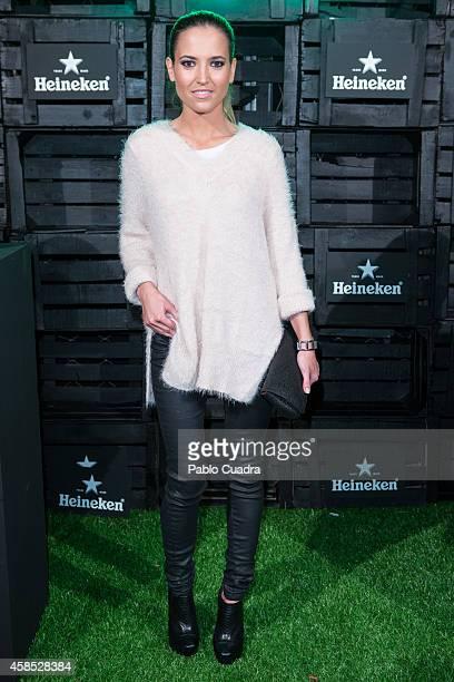 Actress Ana Fernandez attends a Heineken party at 'Media Lab Prado' on November 6 2014 in Madrid Spain