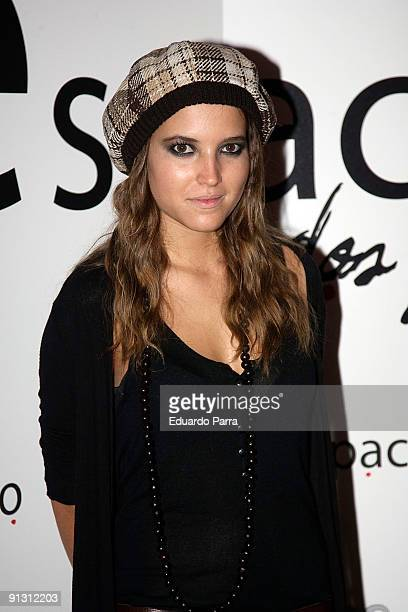 Actress Ana Fernandez attends the Espacio Dos Puntos opening at Atocha on October 1 2009 in Madrid Spain