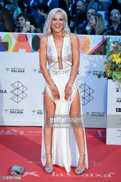 Actress Ana Fernandez attends the Malaga Film Festival 2019 closing day gala at Cervantes Theater on March 23 2019 in Malaga Spain