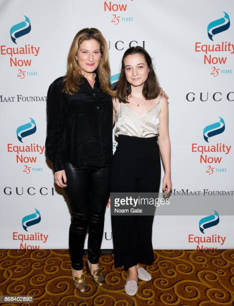 Actress Ana Gasteyer and Frances Mary McKittrick attend the 2017 Equality Now Gala at Gotham Hall on October 30, 2017 in New York City.