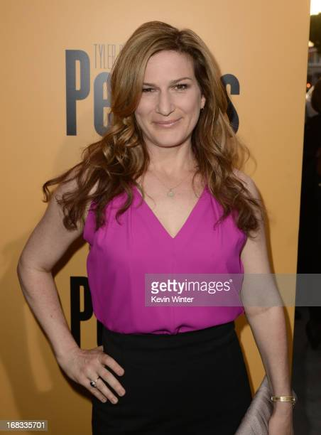 Actress Ana Gasteyer arrives at the premiere of 'Peeples' presented by Lionsgate Film and Tyler Perry at ArcLight Hollywood on May 8 2013 in...