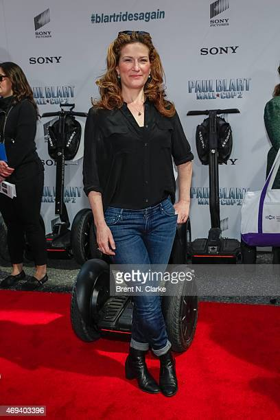 Actress Ana Gasteyer arrives for the 'Paul Blart Mall Cop 2' New York Premiere at AMC Loews Lincoln Square on April 11 2015 in New York City