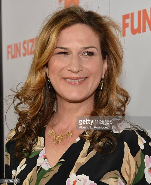 """Actress Ana Gasteyer arrives to the premiere of Paramount Pictures' """"Fun Size"""" at Paramount Theater on the Paramount Studios lot on October 25, 2012..."""
